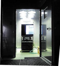 藻類培養実験室 3連装型 日本医化器械製作所